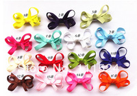 Tini Infant Baby Hair Bow/Hair Clip Whole sale Lot-30pcs For Baby Girl free shipping hair accessories