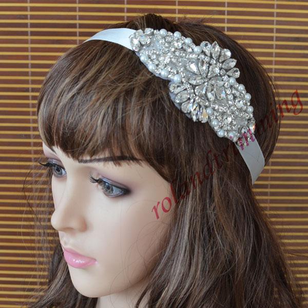 free shipping 2015 new woman headwear tiaras pageant tiara crown for women RA349-hairband(China (Mainland))