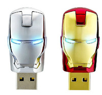 Free Shipping Iron Man homem de ferro 8GB 2.0 USB Flash Drive Cartoon 64GB Mini Minions Memory Stick 128GB Star Wars Pen Drive