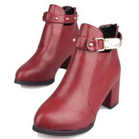 2014 spring and winter ankle boots women martin boots vintage fashion boots riding boots female shoes NX100