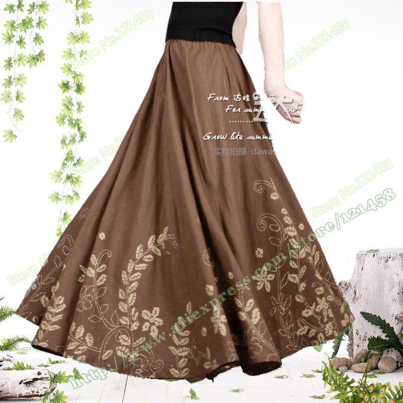 bohemia cotton hemp linen vintage casual umbrella