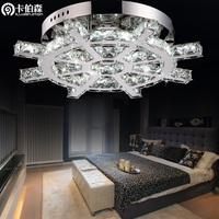free shipping Propeller stainless steel led crystal lamp ceiling light child bedroom lamps lighting