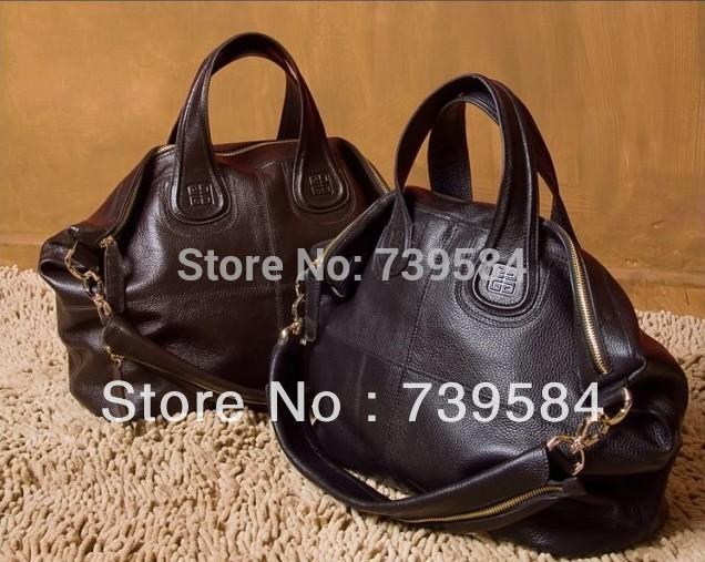 famous brand new designer Euro hollywood women fashion handbag big size shopping travel tote luxury PU leather shoulder gym bag(China (Mainland))