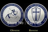New Knights Templar Silver coin