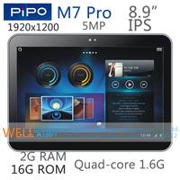 "Original Pipo M7 Pro Multi language Tablet PC 8.9""IPS 1920x1200 RK3188 ARM Cortex-A9 Quadcore1.6G 2G RAM 16G ROM Android 4.2 5MP"