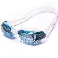 Popular best racing big anti fog free shipping waterproof speedo style arena swimming goggles
