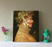 Summer (harvest goddess) Arcimboldo European abstract oil painting. Restaurant. Living room decorative painting