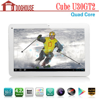"In Stock 10.1"" Cube U30GT2 Tablet PC RK3188 Quad Core Mali 400 2GB/32GB Android 4.2 Support 3D gaming"