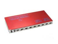 Free shipping 8 Port HDMI Splitter 1.4v 3D 4Kx2K Ethernet colorful extender