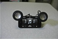 Christmas gift high sound quality portable 3.5mm audio plug mini speaker for iPad iPhone smartphone