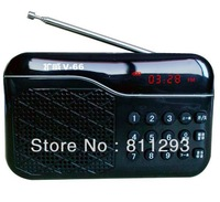 V-66 Portable Speaker Portable Voice Amplifier with FM Radio Worldwide Free Shipping