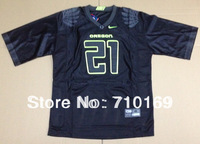 FreeShipping Oregon Ducks LaMichael James 21 black  College Football Jersey mix order