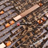 Stainless steel tile backsplash SSMT282 kitchen mosaic glass wall tiles FREE SHIPPING diamond mirror glass mosaics tiles
