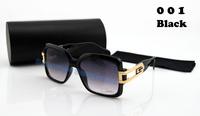 Free shipping News  famous brand Cazal  sunglasses  for men  women oversize frame  with Original box
