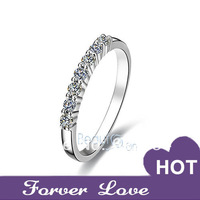 Xmas promotion SONA Wedding ring for women wedding band Highest quality synthetic diamond infinity engagement ring eternity band