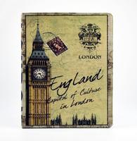 (3pcs/lot =1case+1pen+1protector)Retro British PU Leather Smart Case For iPad Mini 7.9 inch Wake up  Free Shipping