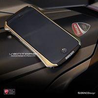 1pcs/lot DRACO DUCATI Ventare Deff CLEAVE Design Aviation Aluminum Bumper Metal Case for iPhone 5 5S,Free shipping