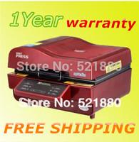 Red 3d sublimation  vacuum machine heat press machine 3d mug printer phone case printer mug press t shirt printer