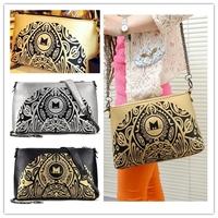 Big discount solid handbags 2014 women leather clutches organizer shoulder bag fringe bag lady satchel Retail and Wholesale