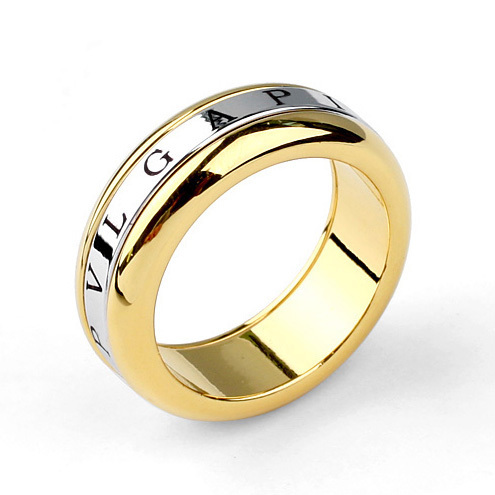 Free Shipping Jewelry Colour Mixture Rotatable Stainless Steel Double Combination Rings Suitable For Men and Women(China (Mainland))
