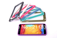 Galaxy Note 3 Bumper Case,Newest Soft TPU Bumper Frame Cover Case For Samsung Galaxy Note3 N9000 Note III, 2 in 1 bumper