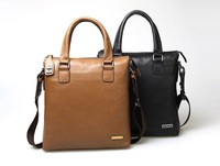 Hot sale!! New Genuine Leather Men Bag Briefcase Handbag Men Shoulder Bag Laptop Bag,free shipping SFMBAG07