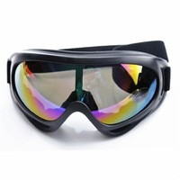 WOLFBIKE Black Frame Adult Snowmobile Winter Sport Ski Goggles Glasses Motorcycle Cycling Sunglasses Eyewear Lens Colourful
