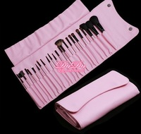 3sets/lot 23 pcs/set  Professional Advanced Animal Hair Makeup Make Up Brushes Set