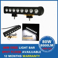 17.5 INCH 80W CREE LED Offroads Lamp BAR SPOT Beam Work Light BOAT UTE 12V 24V Free Shipping