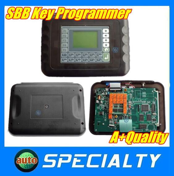 Top-Sale 2015 New SBB Key Programmer Multi-language Auto Car Key Programmer with Silca Logo(China (Mainland))
