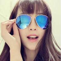 Brand Designer Fashion Original Aviator Colorful Sunglasses Ray Retro Sun Eye Glasses Oculos Do Sol Feminino Outdoor Sunglass