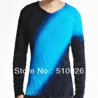 New fashion v-neck men mohair men's sweaters 2111