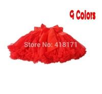 Girls 2-6 Tulle Twirly Skirt Rosebud Multi-List Solid Color Pettiskirt Bow-knot Skirt Dancing Layers Trimmed Cake Skirt