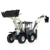 Free shipping 1:50 alloy Forklift  model simulation of two-way forklift excavator factory car