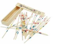 Exempt postage, factory direct sale, wooden toys, children's intelligence toys, wooden stick game,MIKADO SPIEL