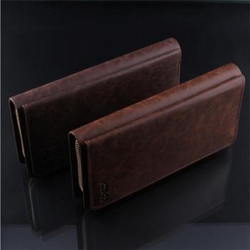 M04 2014 brand men handbags of famous brands the men's wallets purse genuine ...