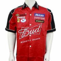 F1 automobile race clothing pakwai short-sleeve shirt full embroidery c020 c021