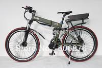 2014 New Off Road Electric Bike 48V 800W Mid-Drive Foldable Frame+9-speed+48V 20Ah Li-ion Battery+LCD Display
