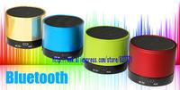 Free Shipping Wireless Bluetooth Mini Speaker  Gold Blue Green Red White Black Orange Yellow