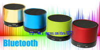 Free Shipping Wireless Bluetooth Mini Speaker  Gold Blue Green Red White Black Orange Yellow