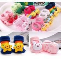New Free shipping Cute Newborn Baby  kid child Unisex Indoor Anti-slip Warm Socks Animal Cartoon Shoes Boots