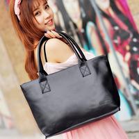 Women's handbag 2013 trend fashion brief fashion black formal casual handbag big bags women bag