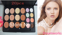 DHL/EMS Free shipping Top quality Brand  20colors makeup  concealer  & concealer 24pcs/lot