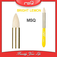 1pcs MSQ Brand Amazing U Professional Lemon color Glimmer Goat hair Makeup Blooming Eyeshadow Brush  tool Cosmetic