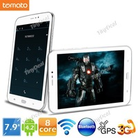 TOMATO T2 7.9 Inch IPS Screen Android 4.2.2 16GB Samsung Exynos5410 Eight core 3G Tablet Phone w/ WiFi Bluetooth GPS