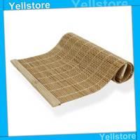 Free Shipping Handmade woven bamboo tea tray small bamboo curtain bamboo mat bamboo mat bamboo tea set