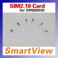1pc Original SIM2.10 Card for DM800HD pro DM800  dvb-s satellite receiver DM800HD cable receiver  free shipping post