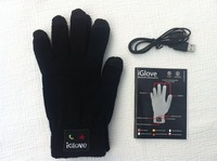 2pcs/lot, 2013 New, Best quality, Bluetooth IGlove Screen touch gloves Unisex Winter for Iphone touch glove