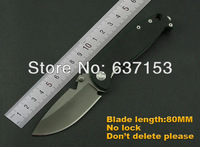 BL D,High quality 440c steel blade,G10 handle,outdoor camping combat survival hunting folding blade knife,Free shipping
