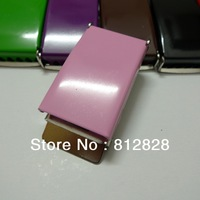 """10pcs 1"""" 25mm Pink Color Enamel Painted Belt Buckles FREE SHIPPING"""